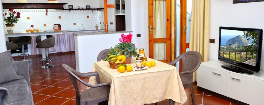 Dependance Villa Caterina con angolo cottura